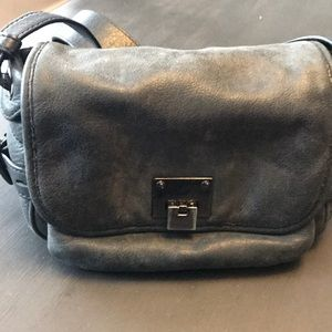 J.Crew distressed leather bag.